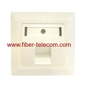 Cat6A Shielded Network Faceplate
