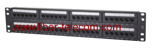 CAT.6 UTP Patch Panel 2U 48 ports