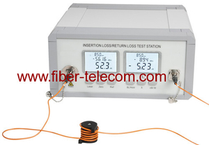 Multimode Insertion Loss And Return Loss Test Station