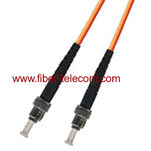 ST-ST Multi mode Simplex Fiber Optic Patch Cord
