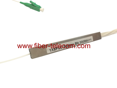 1x8 Blockless PLC Splitter with LC/APC Connector