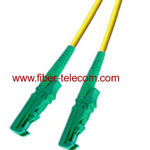 E2000/APC-E2000/APC Single Mode Simplex Fiber Optic Patch Cord