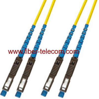 MU-MU Single Mode Duplex Fiber Optic Patch Cord