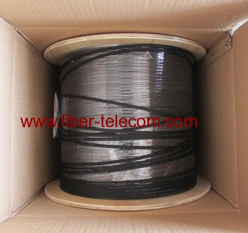 GJXFH-6B6 FTTH Indoor Cable 6 Core with 0.5mm FRP Strength Member