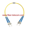 ST to ST Single Mode Duplex Fiber Optical Patch Cable