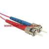 ST to ST MM OM4 Duplex Fiber Patch Cord
