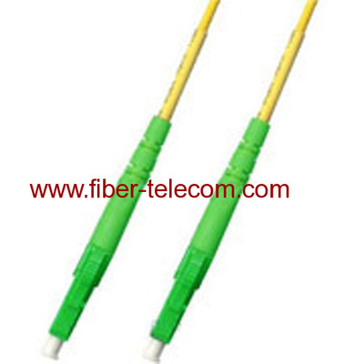LC/APC-LC/APC Single Mode Simplex Fiber Optic Patch Cord