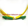 LC/APC to LC/APC Singlemode Simplex Fiber Optical Patch Cable