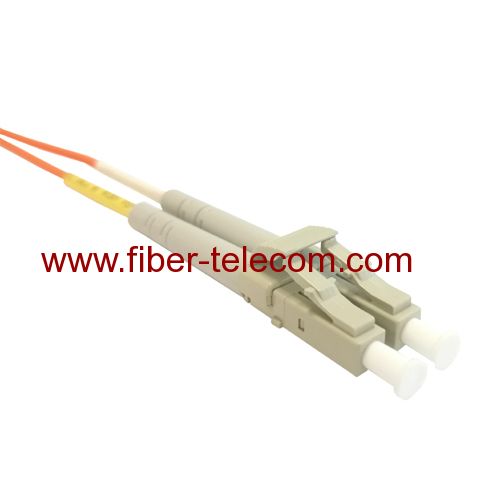 LC to LC Multimode Duplex Fiber Optical Patch Cord