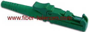 E2000/APC Simplex Fiber Optic Connector