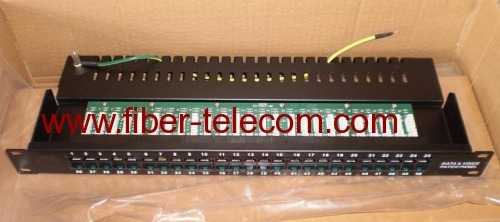 Category 3 Voice Patch Panel 50 ports