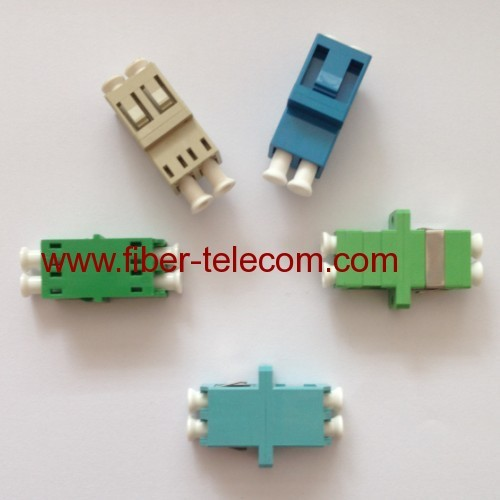 LC Multi Mode Duplex Fiber Optic Adaptor