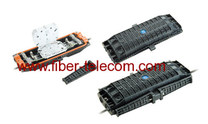 Horizontal type Fiber Optic Splice Enclosure