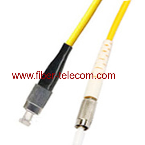 DIN-FC Single mode Simplex Fiber Optic Patch Cord