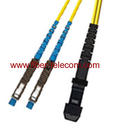 MU-MTRJ Single Mode Duplex Fiber Optic Patch Cord