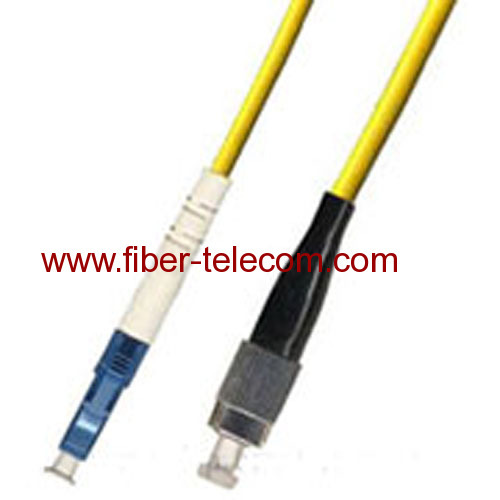 FC-LC Single Mode Simplex Fiber Optic Patch Cord