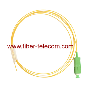 SC/APC Single Mode Fiber Optic Pigtail