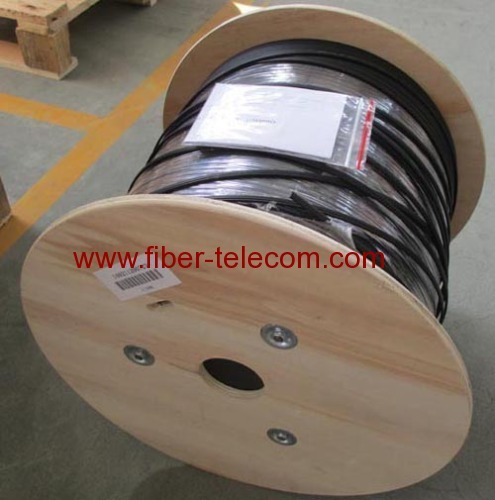 GJYXCH-8B6 FTTH Drop Cable 8 Core Fig.8 with 0.4mm Steel Wire Strength Member